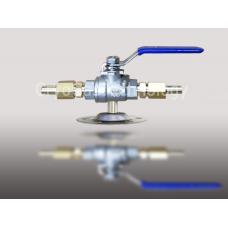 Клапан запорный магистральный КЗМ-(Dn6 - Dn6)